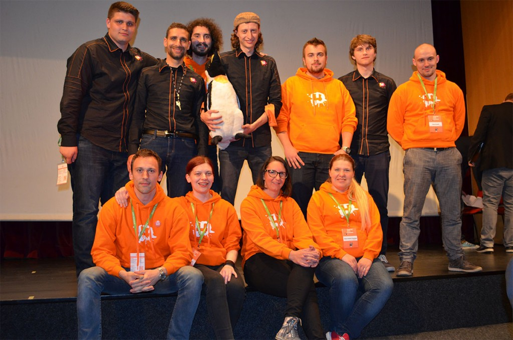 Slovenians at final competition Startup Train won all awards